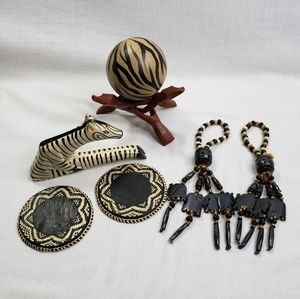 Zebras Handmade Tribal Decor Africa Global